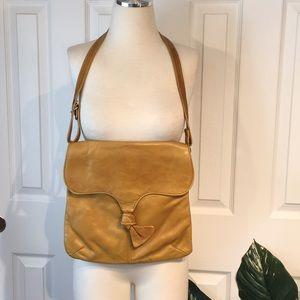 Vintage 70's BRIXTON leather bag